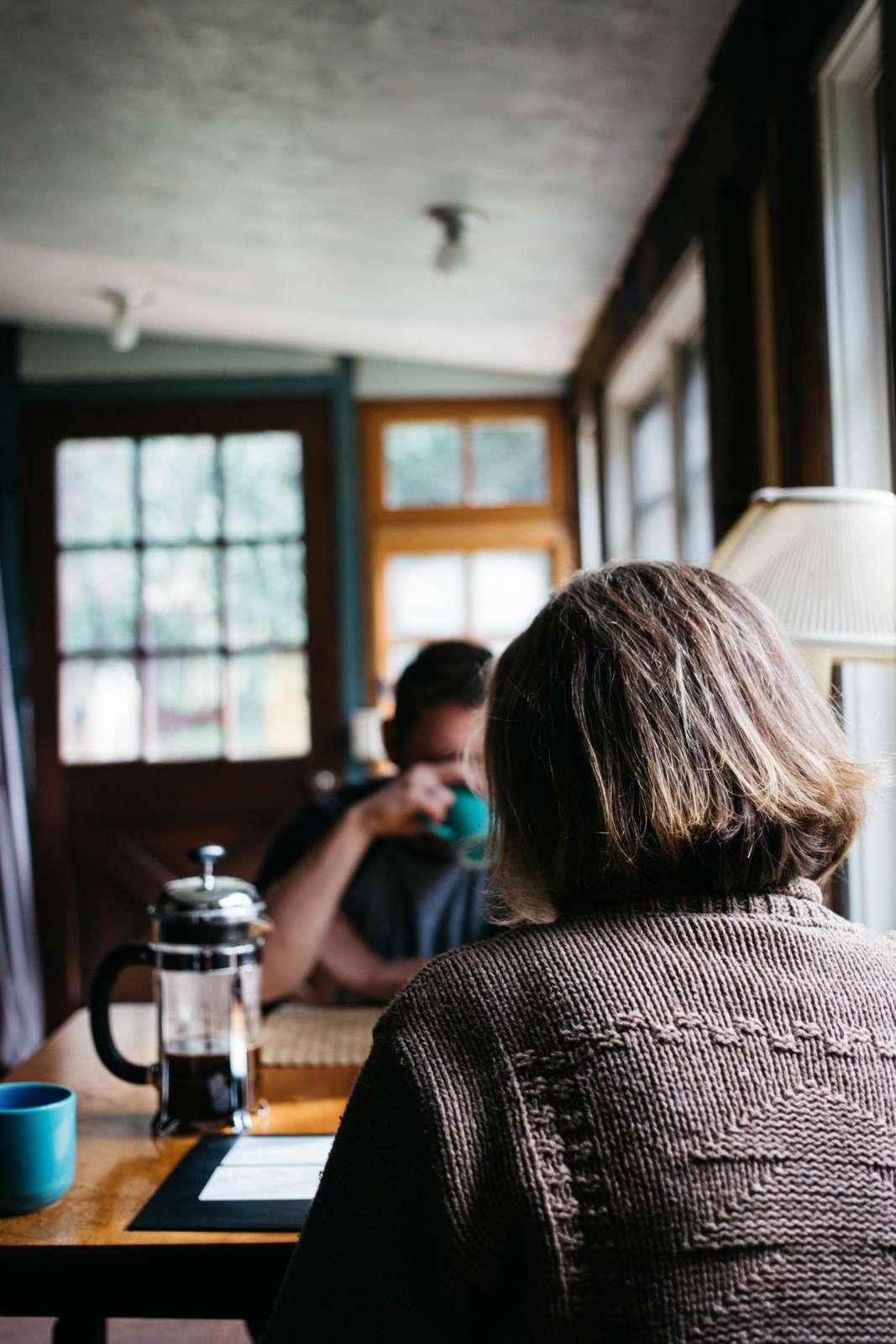 Gemeinsam Kaffee trinken